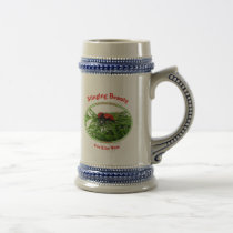 Stinging Beauty Cow Killer Wasp Beer Stein