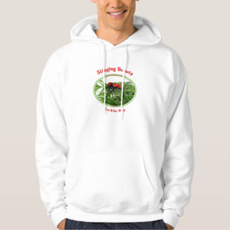 Stinging Beauty Cow Killer Wasp Hoodie