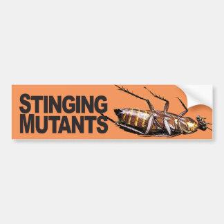 Stinging Mutants - Bumper Sticker