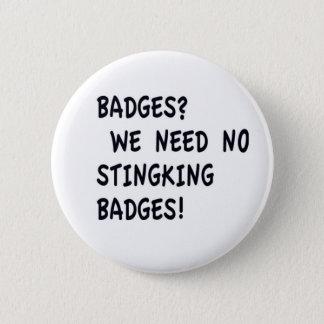 Stingking Badges Button