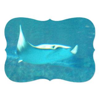 stingray-24.jpg invitación 12,7 x 17,8 cm