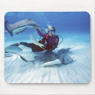 Stingray City, Grand Cayman, Cayman Islands, Mouse Pad