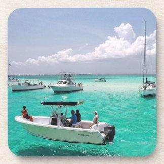 Stingray City Grand Cayman Islands Cork Coaster