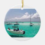 Stingray City Grand Cayman Islands Ornament