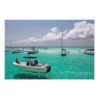 Stingray City Grand Cayman Islands Poster