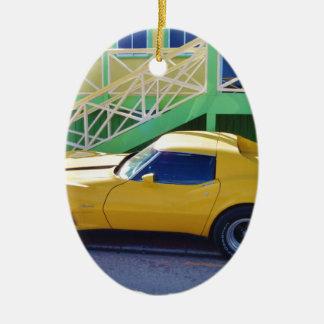 Stingray. clásico del Corvette Ornamento De Reyes Magos