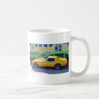 Stingray. clásico del Corvette Taza