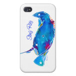 Stingray iPhone 4 Cover in Blues
