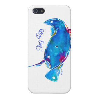 Stingray iPhone 5 Cover  Blues