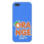 Stingray Orange (1) iPhone 5 Case