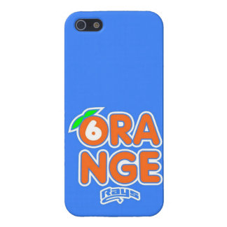 Stingray Orange (1) iPhone 5 Case