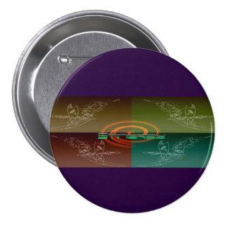 Stingray Pinback Button