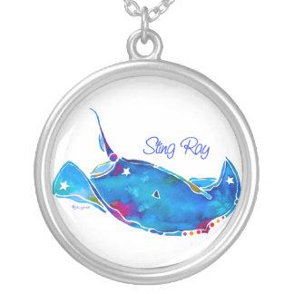 Stingray Round Necklace