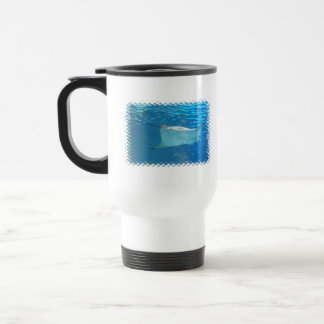 Stingray Swimming Travel Mug