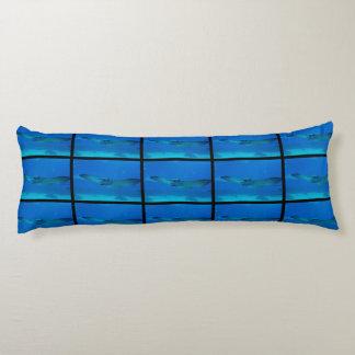 Stingray Swimming Under Water Body Pillow
