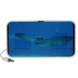 Stingray Swimming Under Water Portable Speakers