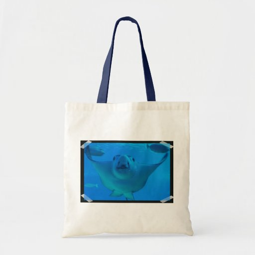 Stingray Underwater Small Tote Bag