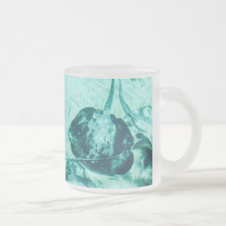 Stingrays in Xcaret, Mexico Frosted Glass Coffee Mug