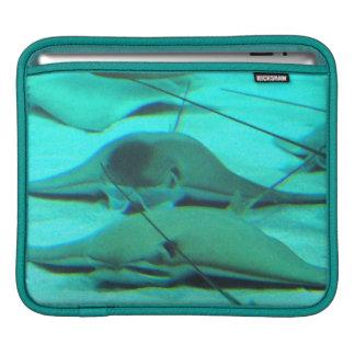 Stingrays on Ocean Floor iPad Sleeve