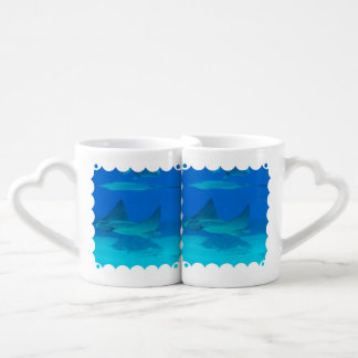 Stingrays Couple Mugs