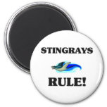STINGRAYS Rule! Refrigerator Magnet