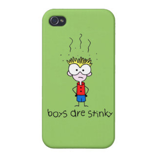 Stink Boy iPhone 4/4S Cover