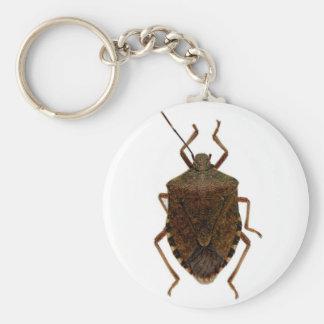 Stink Bug Basic Round Button Keychain