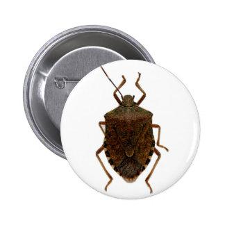 Stink Bug Pinback Button