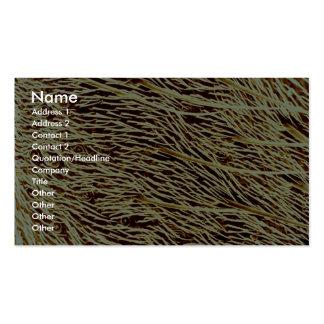 Stink bug - side business card