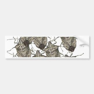 Stink Bugs bedazzled Bumper Sticker