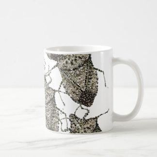 Stink Bugs bedazzled Coffee Mug