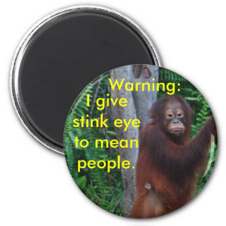Stink Eye  buttons Refrigerator Magnets
