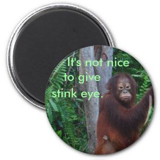 Stink Eye stickers Refrigerator Magnet