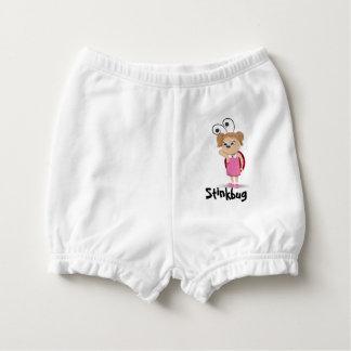 Stinkbug ladybug girl diaper cover