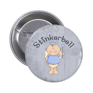 Stinkerbell Pin Redondo 5 Cm