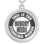 Stinking Badge Necklaces