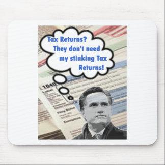 stinking tax returns mouse pad