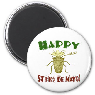 Stinko de Mayo Fridge Magnet