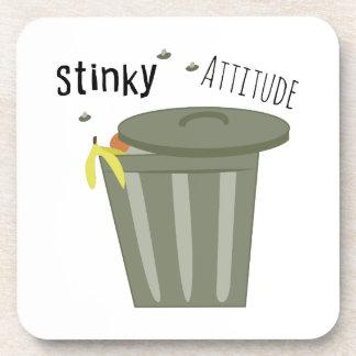 Stinky Attitude Drink Coasters