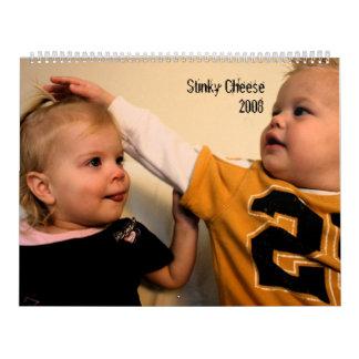 Stinky Cheese, 2008 Calendar