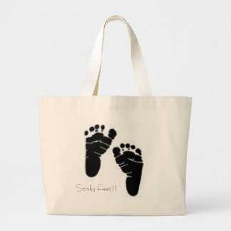 Stinky Feet!! Tote Bags