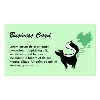 Stinky Love Skunk Business Card