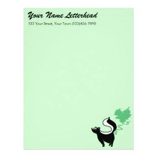 Stinky Love Skunk Letterhead