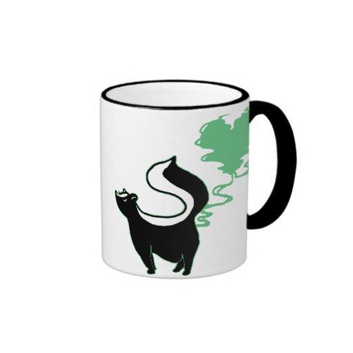 Stinky Love Skunk Ringer Mug