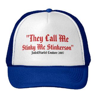 Stinky McStinkerson Jadedstarlet mens or womens ha Trucker Hat