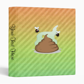 Stinky Poo design Binder