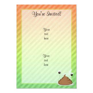 Stinky Poo design Card