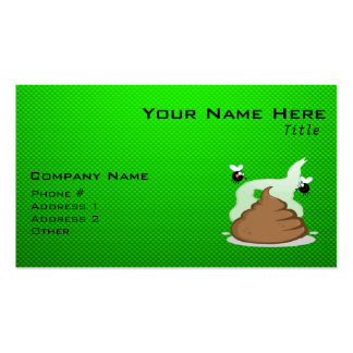 Stinky Poo; Green Business Cards