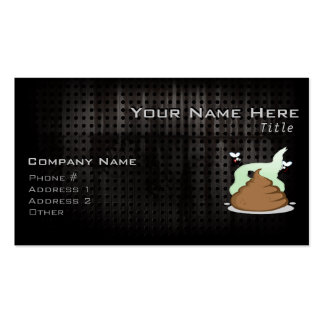 Stinky Poo; Grunge Business Cards