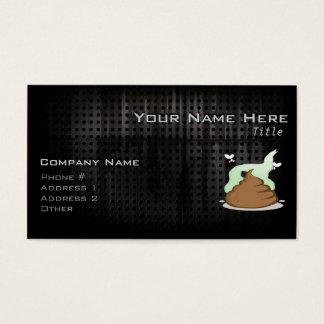 Stinky Poo; Grunge Business Card